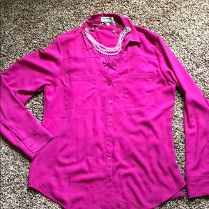 Fuchsia Portofino Shirt